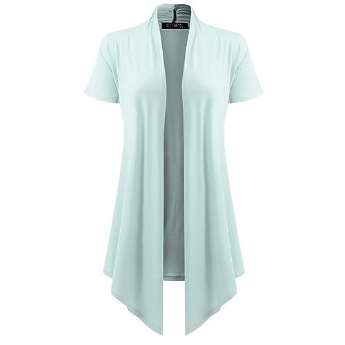 Ladies Navy Blue Lace Short Sleeve Bolero Shrug Sizes 6-30