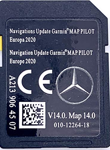 SD Karte Mercedes (Star2) Garmin MAP Pilot Europe 2019 v12 - A2139062607