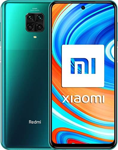 Xiaomi Redmi Note 9 Pro - Smartphone 6+64GB (6.67', Cámara cuádruple 64 MP, Q-SnapdragonTM 720G, Batería 5020mAh, 30W carga rápida), Alexa Hands-Free, Verde [Versión ES/PT]