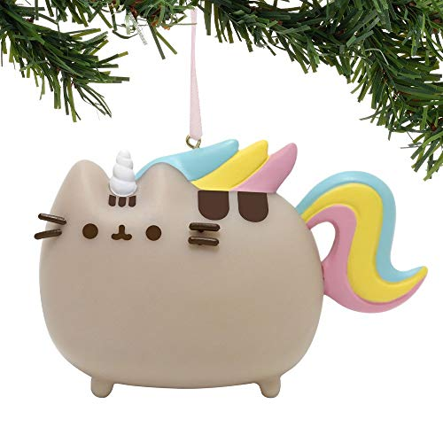 Department 56 Pusheen Magical Unicorn PVC, 2.75 inch Hanging Ornament