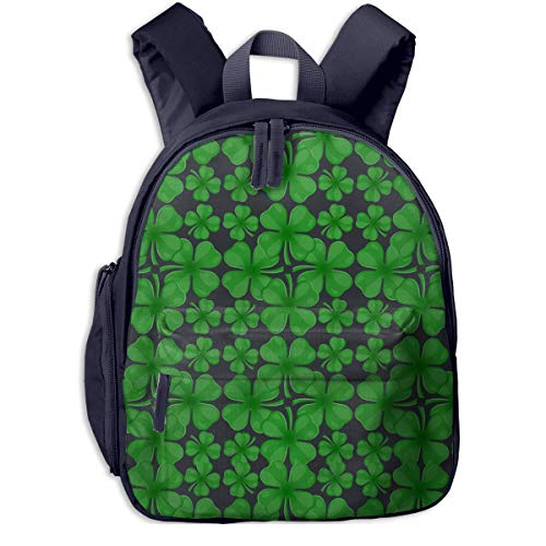 Four Leaf Clover Student School Bags Feet Super Bookbag