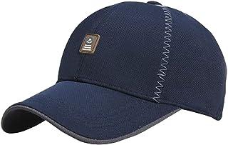 Man Outdoor Quick Dry Hat Sun Hat UV Fishing Cap Sport Baseball Cap Leisure Caps for Men, Blue