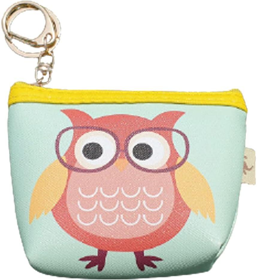 Hiharu Owl Pouch | Coin Purse, Ladies Purse, Coin Holder, Card Organizer (MINT)