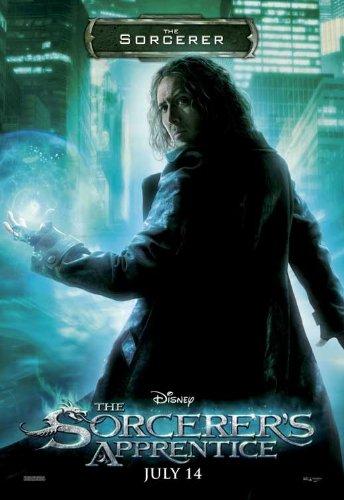 Pop Culture Graphics The Sorcerer's Apprentice Framed Poster Movie I 11 x 17 Inches - 28cm x 44cm Nicolas Cage Jay Baruchel Monica Bellucci Alfred Molina