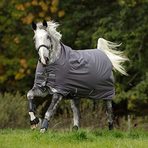 Horseware Amigo Bravo 12 Turnout Lite 0g - Excal/Plum & Silver