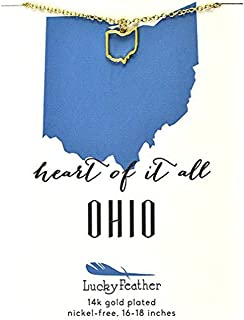 Best state of ohio necklace Reviews