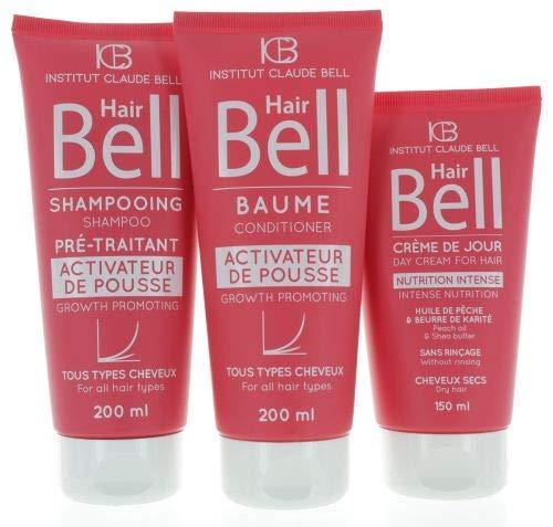 Hairbell Champú+Acondicionador+Haircream Intensivo Rosa Edición