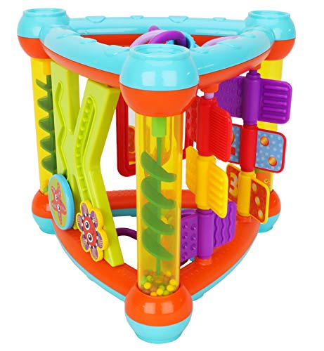 S-TROUBLE 6pz Extra Large Rainbow Tunnel Stacker Pikler Triangle Toy Giocattoli in Legno per Bambini