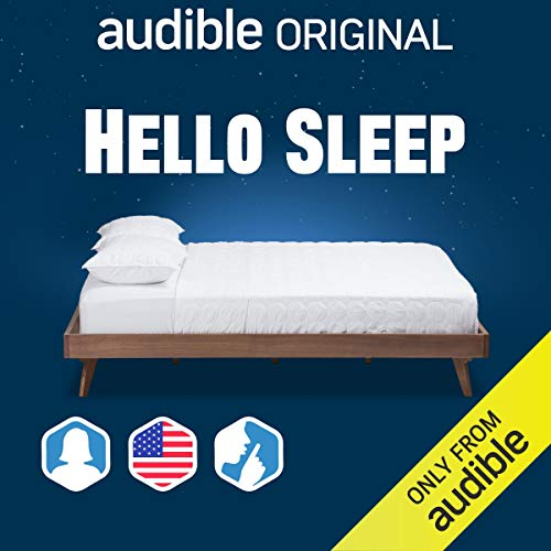 Hello Sleep: US/Female/Silence Background cover art