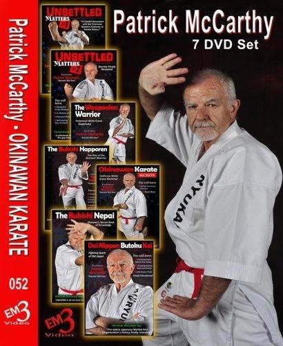 7 DVD Box Okinawan Karate Patrick McCarthy