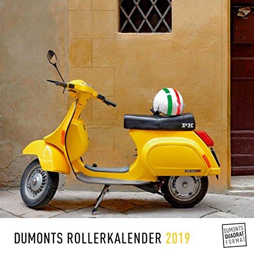 DuMonts Rollerkalender - Kalender 2019 - DuMont-Verlag - Wandkalender mit kultigen Fotos - 24 cm x 24 cm