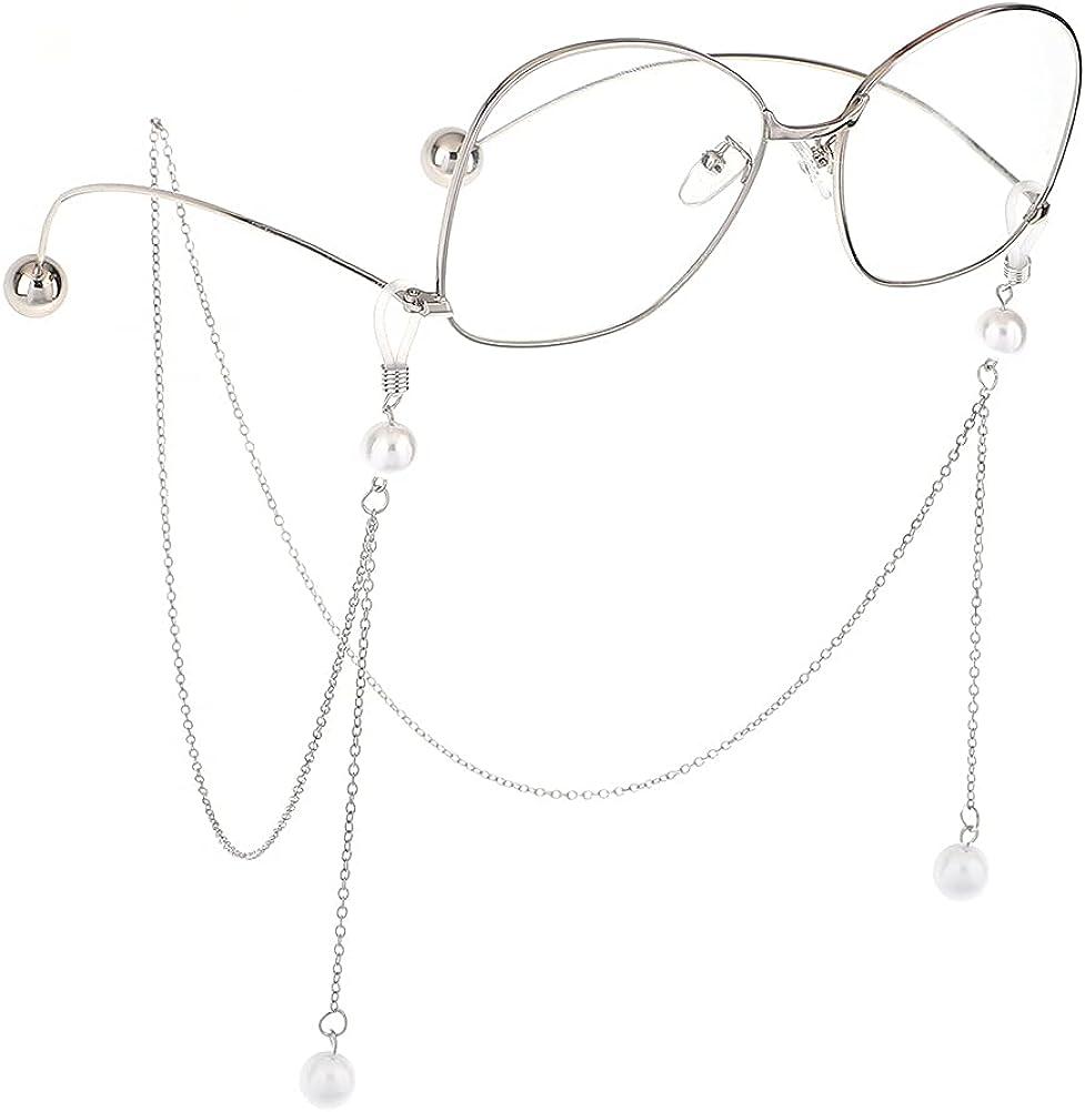 Vintage Eye Genuine Free Shipping Glasses Weaven Cord Pearl Multi-layer Lanyard Sungla Tucson Mall