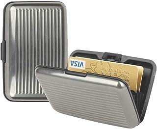 Aluminium Credit Card Holder Rfid Blocking (GREY)