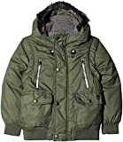 Timberland Blouson Manches Amovibles (Vert Uniforme 650), Taille Fabricant: 12A...