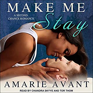 Make Me Stay audiobook cover art