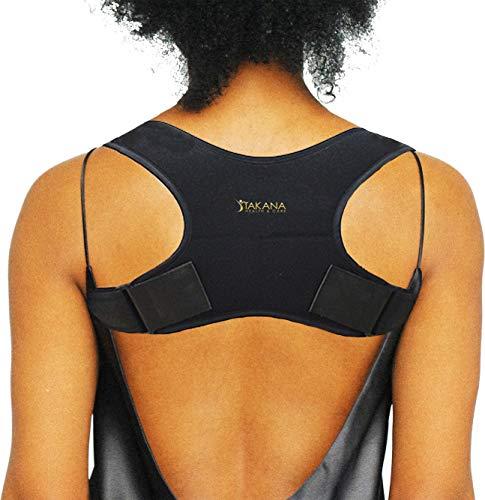 Takana H&C - Correttore posturale per donna e uomo, supporto schiena, schiena e spalle