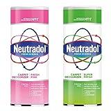 Neutradol Deodorante per moquette, confezione da 2 pezzi, super fresco e fresco prodotto per la pulizia rosa da Kingdom Supplies.