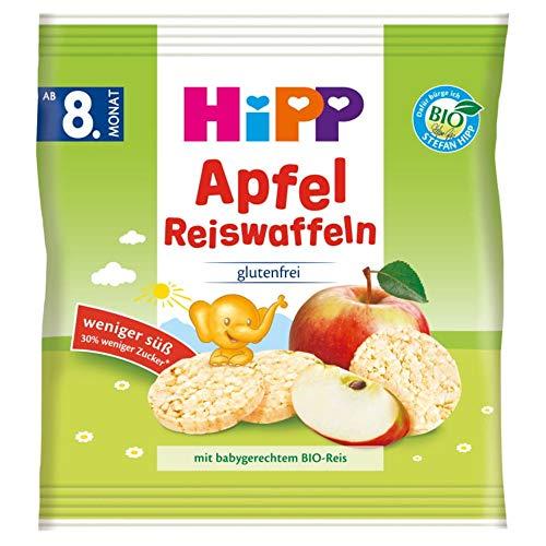 HiPP , 7er Pack (7 x 30 g) Hipp Bio Knabberprodukte Reiswaffeln
