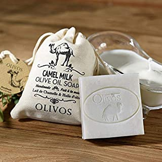 Olivos Organic Camel Milk Soap - Natural Moisturizing Handmade Soap Bars, Prevents Fine Lines And Wrinkles, Hand, Face and...