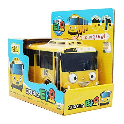 Mimi World Rani The Little Yellow Bus Tayo Korea TV Animation Character Toy 4.3 inch