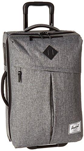 Herschel Little America Campaign Luggage Maletas y trolleys, Raven Crosshatch/Cuero Negro Pebbled,...