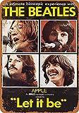 Beatles Let It Be Blech Blechschild Warnschild Schilder