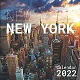 New York Calendar 2022: Monthly Square Calendar 2022-2023, Size 8.5 x 8.5 Inch 12 Month Calendar, Home & Office Calendar 2022