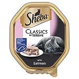 Sheba Classics Cat Tray with Salmon in Terrine, 85 g