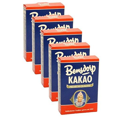 Bensdorp Kakao Premium-Qualität 250g 5er Pack