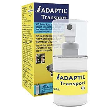 ADAPTIL Transport Spray 20ml - Anti-Stress pour Chien, Voyage, Education, Dressage