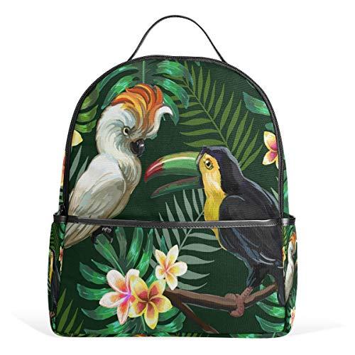 Mr.XZY Parrot Toucan Bird Backpack for Boy for Girl Bookbag Backpack 2011618