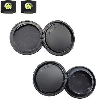 ULBTER Pokrywa przedniej obudowy i tylna osłona obiektywu do Sony Alpha E Mount A6600 A6500 A6400 A6300 A6100 A6000 A5100 ...