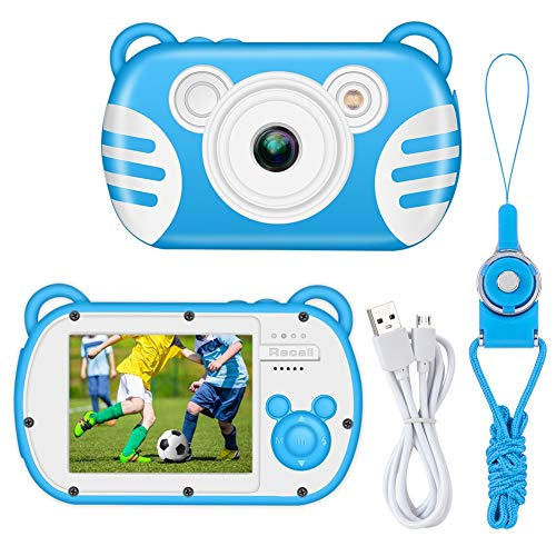 Kids Digital Camera, LSLYA Camera with Small Game, Kids Video Camera with 2.7 Inch HD Screen,Cameras for Boys&Girls Best Birthday Gifts, Children Digital Cameras for Kids Toys