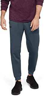 Under Armour Men's Armour Fleece Jogger Pants, Grey (Wire/Black), X-Large