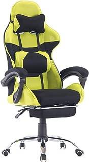 Pananaゲーミングチェア オフィスチェ ゲーム用チェア デスクチェア 無段階165°リクライニング 多機能 パソコンチェアー ヘッドレスト ランバーサポート ハイバック 腰に優しい gaming chair 座り心地良い 通気性抜群 130KG耐荷重 レーシングチェア