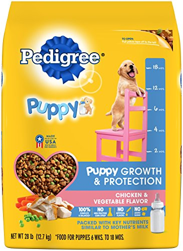 Pedigree Chicken and Vegetable Flavor Puppy Growth Formula