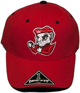on sale f1bed 377a8 Ohio Wesleyan University Battling Bishops Stretch-Fit Hat Embroidered Cap