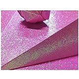 Origami / 15x15 cm Papel brillante de doble cara cuadrado/Rose Origami-Rosa