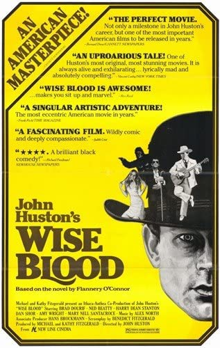 Amazon.com: Movie Posters Wise Blood - 11 x 17: Prints: Posters & Prints