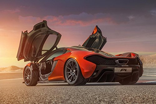 Gifts Delight Laminated 36x24 Poster: McLaren P1