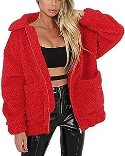 Best red fur jacket womens Reviews