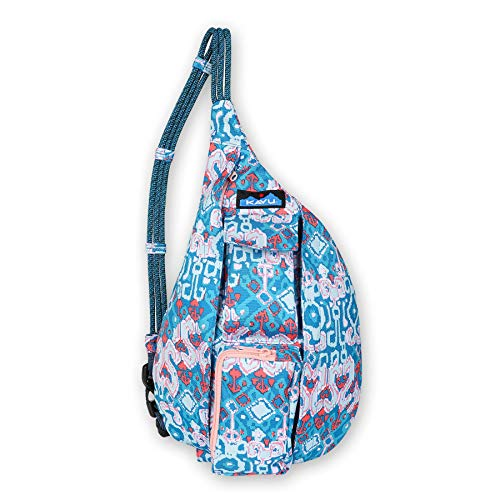 KAVU Mini Rope Sling Bag Polyester Crossbody Backpack - Milky Way