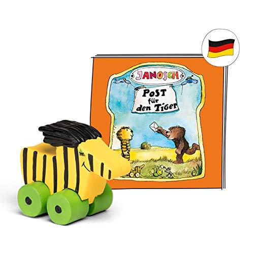 tonies Hörfiguren für Toniebox - Janosch - Post für den Tiger - ca. 46 Min. - Ab 4 Jahre -DEUTSCH