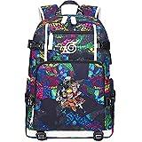 ZZGOO-LL Uzumaki Naruto/Sharingan/Uchiha Sasuke USB Anime Cosplay Bookbag College Bag Mochila Backpack Escolar-A