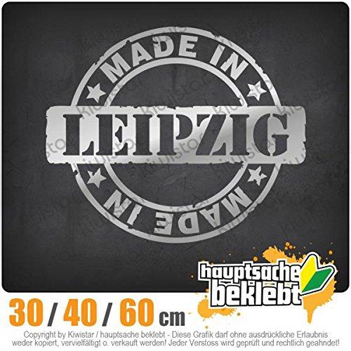 Kiwistar -Made in Leipzig rund Heckscheibenaufkleber Carsticker Decal
