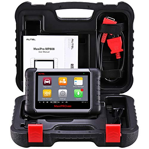 Autel MaxiPRO MP808 Automotive Diagnostic Scan Tool with All Systems...