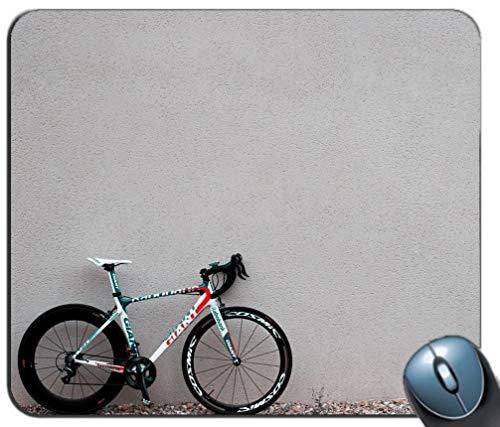 Yanteng Alfombrilla de ráton de Juego de Costura de precisión, Patrón de Deportes de Bicicleta Rectángulo Personalizado Alfombrilla de ratón Antideslizante Alfombrilla de ratón de Juego