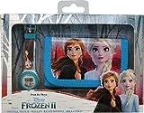 Frozen Lot Montre numérique et Portefeuille en boîte 2 Bracelets, Unisexe, Multicolore, Unique