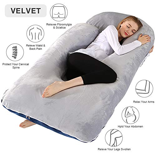 Chilling Home Pregnancy Pillow, 55 inches Full...