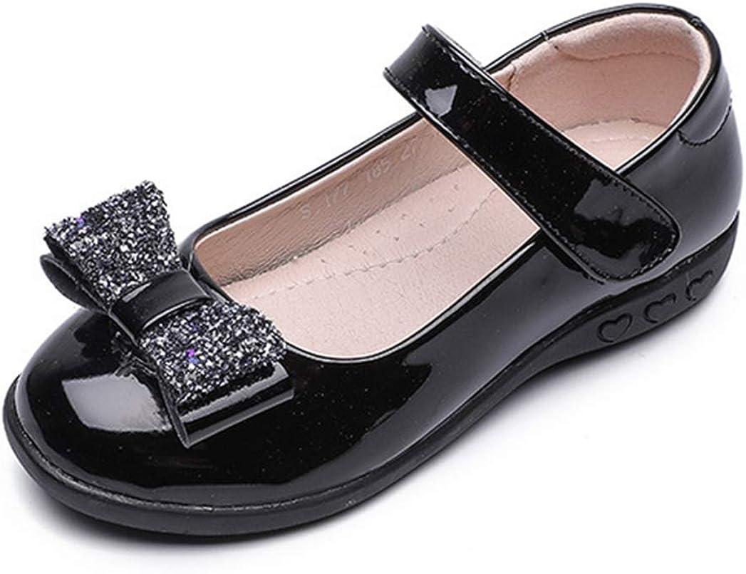 LFHT Kids Girls Ballet School Uniform Flats Shoes Ballerina Jane Mary Wedding Princess Dress
